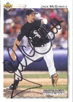 Jack McDowell Chicago White Sox 1992 Upper Deck Autographed for sale  Delivered anywhere in Canada