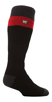 Heat Holders - Mens Extra Long Winter Warm Thick Heavy Thermal Ski Skiing Socks