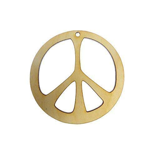 Personalized Peace Sign Ornament -