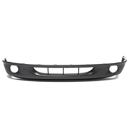 CarPartsDepot 98-00 Dodge Dakota Front Lower Bumper Cover Raw CH1000248 Durango Fog Lamp Holes (2000 Dodge Durango Front Bumper compare prices)