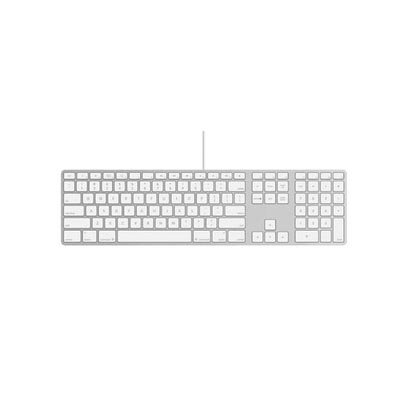 [Apple Aluminum Wired Keyboard MB110LL/A] (Wireless Enclosure)