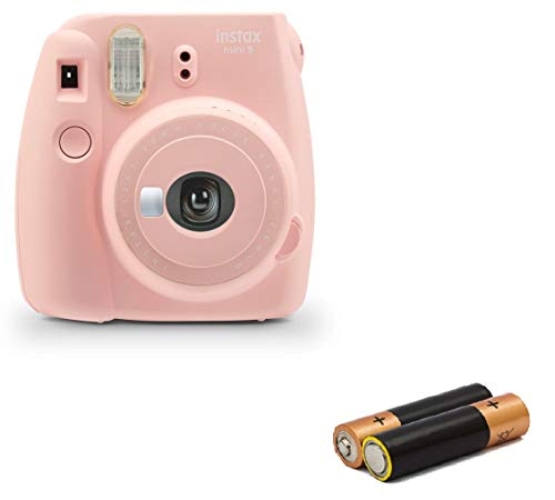 Certified Amazing – Fujifilm Instax Mini 9 & Instax Mini 7S Instant Camera Product Bundles | Film Pack Options & All Colors Available (Mini 9 Camera Only, Rose Quartz)