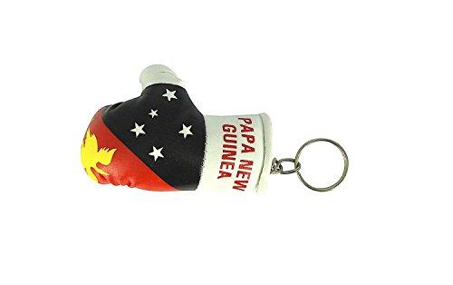 Akacha Boxeo Nueva Llavero Clave Papua Coche Cle Moto Guante Guinea Bandera rwrSfBq