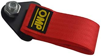 FidgetKute Towing Rope High Strength Nylon OMP JDM Racing Car Universal Tow Eye Strap