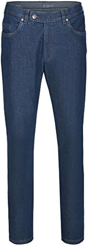 Aubi: spodnie jeansowe męskie ze stretchu, model 577: Odzież