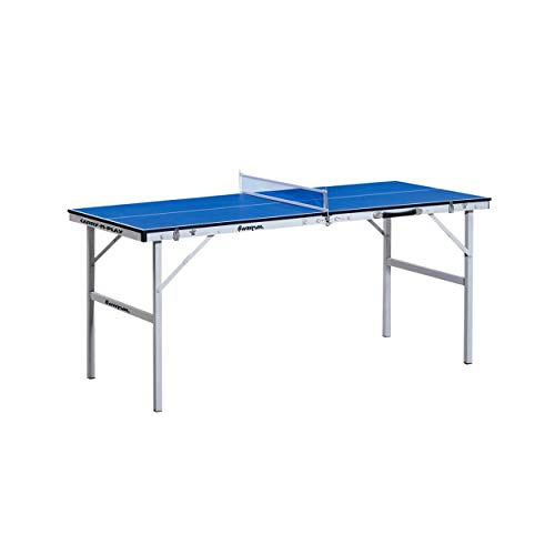 Harvil 60 Inch Folding Portable Table Tennis Table with FREE Accessories