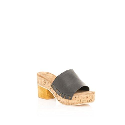 Sandales Femme MTNG Negro Negro Vaqueta Vaqueta 94534 Noir SRqgt