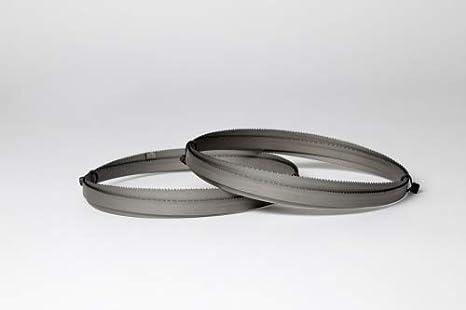 Juego de 2 hojas de sierra de cinta Encut de alto rendimiento, 1400 x 6 x 0,65 mm, 6 dientes por pulgada, acero para herramientas