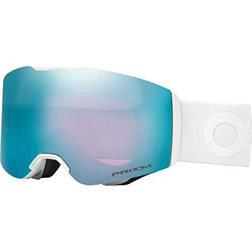 Oakley Fall Line Snow Goggles, Factory Pilot Whiteout Frame, Prizm Sapphire Iridium Lens, - Oakley Design Latest
