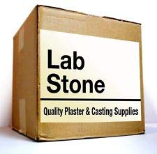 White Dental Lab Stone, Type III 38 lb - Model Stone for Dental Laboratory and Dental Office from Manufacturer, Made in The USA