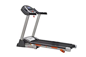 Sunny Health & Fitness SF-T7635 Treadmill with Incline, Pulse Grips, LCD Display by Sunny Distributor Inc.