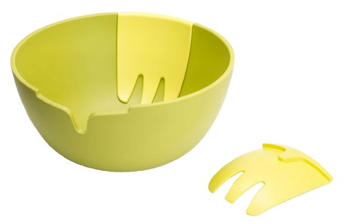 Joseph Joseph Hands On Salad Set, Green