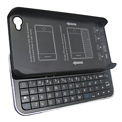 Vivitar Wireless Slide-Out Ultra-Thin Keyboard and Case for iPhone 4