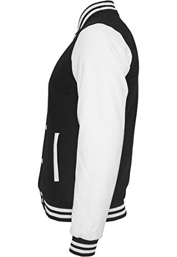 Classics Urban Uomo Bekleidung Jacket Giacca College Oldschool Black PqaBw1q6W