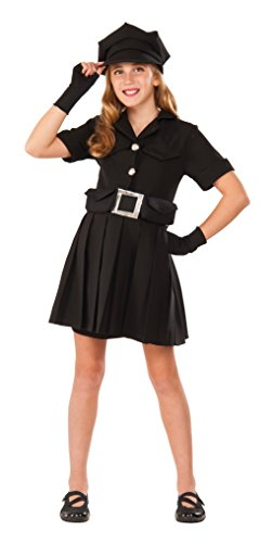 Police Chief Costumes (Rubie's Costume Police Chief Black Deluxe Child Costume, Medium)