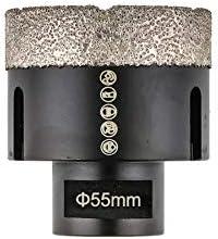 Corona de diamante 55/mm M14/brocas de diamante Corona de perforaci/ón/ en seco Dry /Broca para azulejos