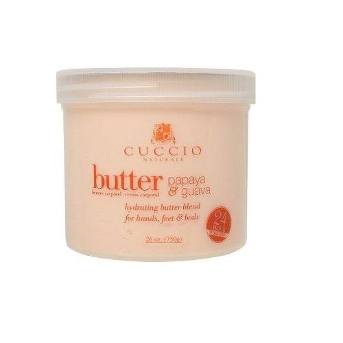 Cuccio Body Butter, Papaya and Guava, 26 Ounce