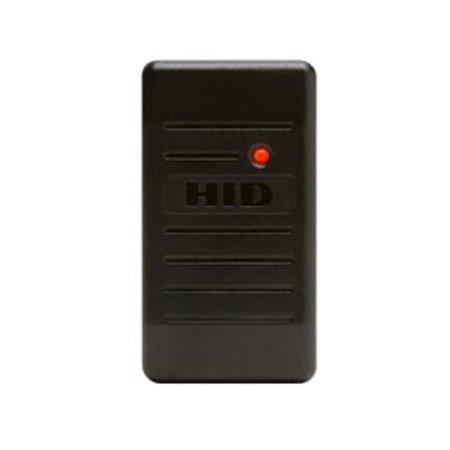 HID ProxPoint Plus Black Access Control Mini Mullion Access Control Reader ()