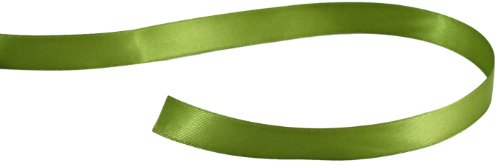 Kel-Toy Double Face Satin Ribbon, 5/8-Inch by 25-Yard, Apple Green