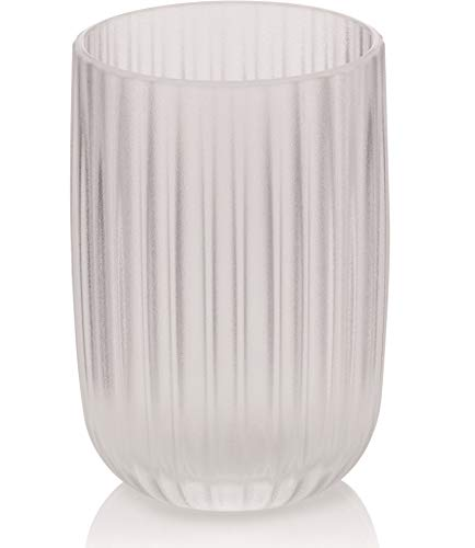 Kela Bathroom Tumbler Cup/Toothbrush Holder Lamina Collection, Transparent ()