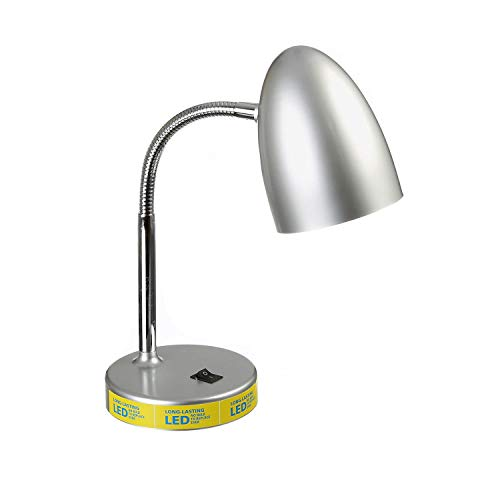 Mainstays LED Desk Lamp - Silver