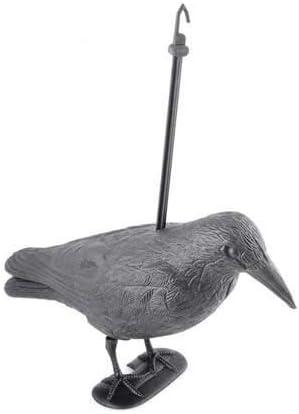 p/ájaros peque/ños Espantap/ájaros gaviotas SiaMed Ahuyentador de P/ájaros 2.0 Ahuyentador de P/ájaros Defensa de palomas Concepto mejorado 2020 40 cm negro