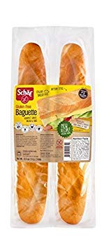 Dr Schar Baguettes (Baquettes) Gluten Free, 12.3oz, Pack of 3, 12.3 oz