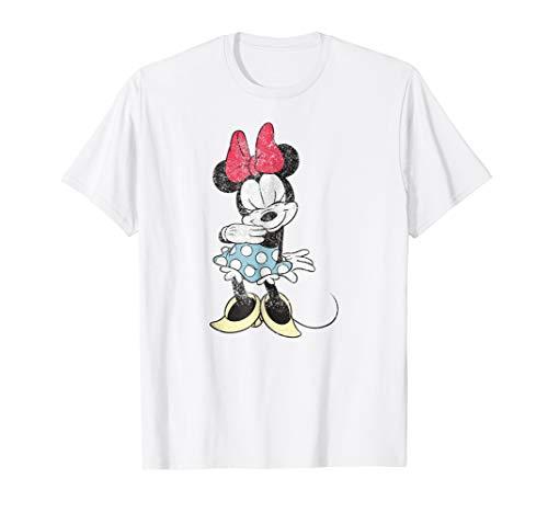 Disney Shy Minnie Mouse T Shirt