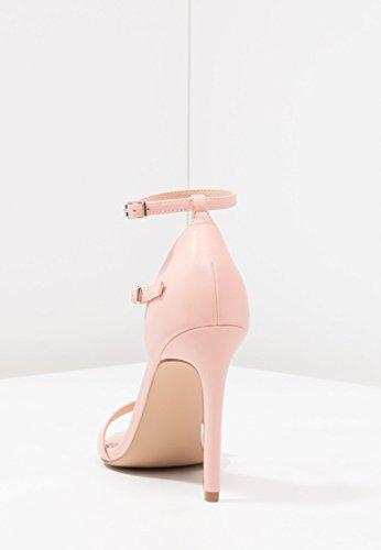 Sandalo Tacco Donna Spillo Feste Eleganti Alto Cinturino Con Estivo amp;odd Da Nero Libero Peeptoe Scarpe E Sandaletti A Alla Caviglia Even Tempo Per 5wxIgqS7