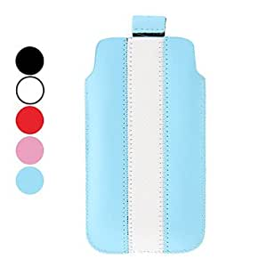 JOE Special Design PU Leather Pouches for iPhone 5/5S (Assorted Colors) , Red