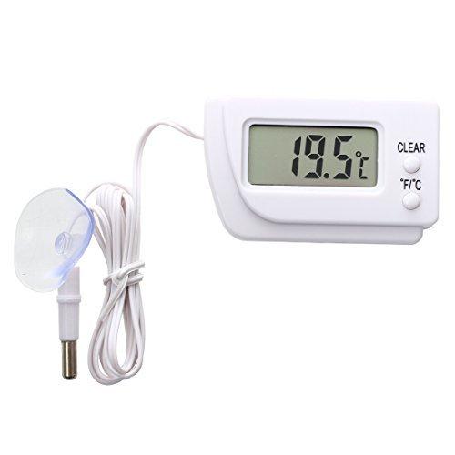 TOOGOO(R) Digital LCD Thermometer Temperature Sensor Fridge Freezer Indoor Outdoor