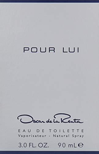 Oscar De La Renta Pour Lui Eau De Toilette Spray for Men, 3 Ounce
