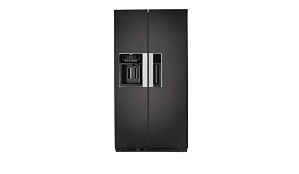 Whirlpool WSG5588 A+B Independiente 505L A+ Acero inoxidable nevera puerta lado a lado - Frigorífico side-by-side (Independiente, Acero inoxidable, ...