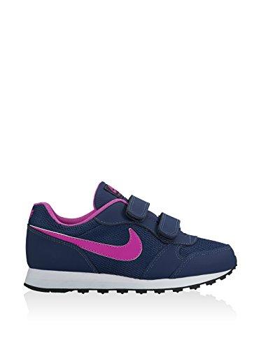 Nike Mädchen 807320-401 Traillaufschuhe, Blau blau (Midnight Navy / Hyper Violet-Blue Tint)