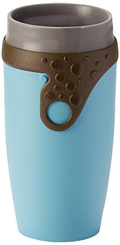 TWIZZ by Neolid Vale Reisebecher, Kaffe, 16,5 x 8 cm, 350 ml, blau ...