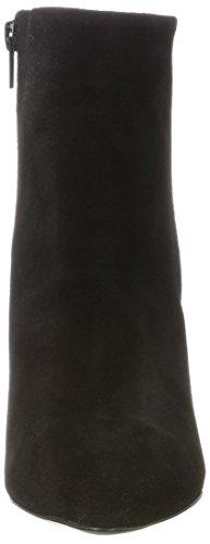 Femme Bottes Selected Boot Round black Sfalexandra Suede Noir Heel OaqUd