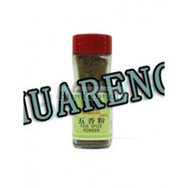 Oriental Mascot - Five Spice Powder 1.1 Oz /32 g (Pack of 1) + One NineChef Spoon