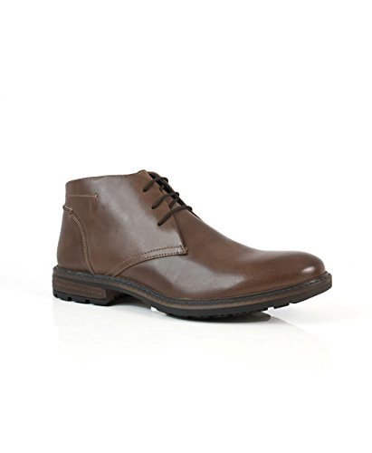 Solebay in caviglia Bixby casual eleganti stivaletti UK pelle 7 uomo alla marrone 12 da nU8wqn6rx