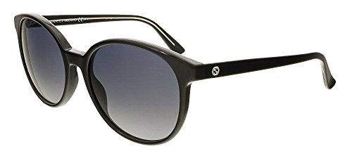Gucci Women's GG 3722/S Black Crystal/Gray Gradient (Gucci Crystal Sunglasses)
