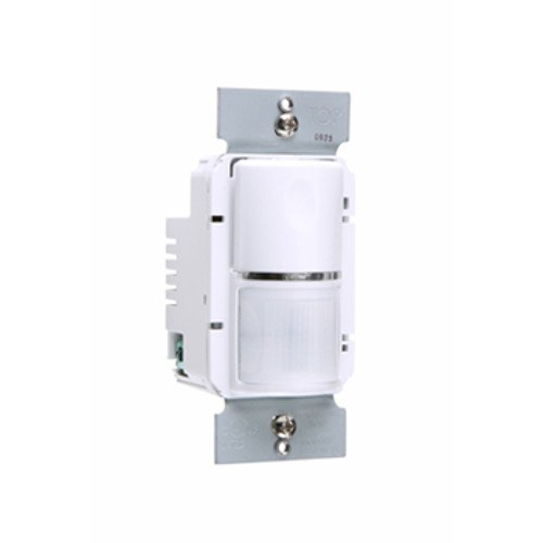 Legrand-Pass & Seymour WSP250W Pass and Seymour WSP250-W Passive Infrared Wall Switch Occupancy Sensor 120/277 Volt AC 1050 Sq Ft on/Off White