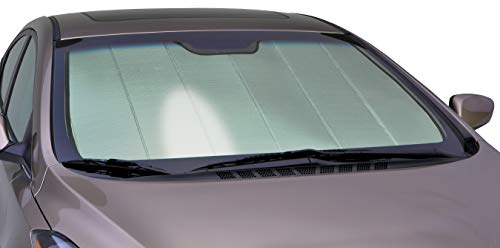 Toyota Tacoma Windshield - Intro-Tech TT-909-P Silver Custom Fit Premium Folding Windshield Sunshade for Select Toyota Tacoma Models
