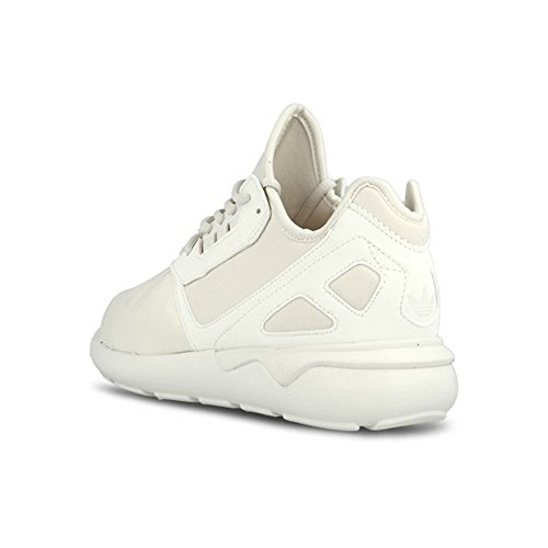 Adidas B24349 - Zapatillas de correr originales, talla 24, color blanco apagado y rosa grisáceo