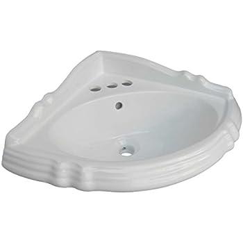 Kohler K 2766 Eh 0 Marston Wall Mount Corner Bathroom Sink