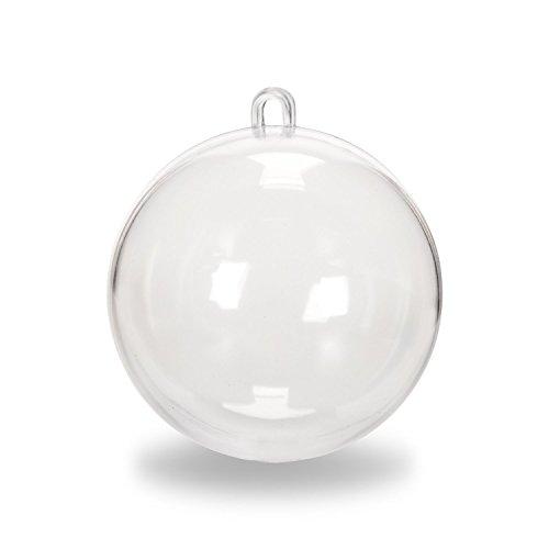 Darice 1105 96 Plastic Ornament Clear