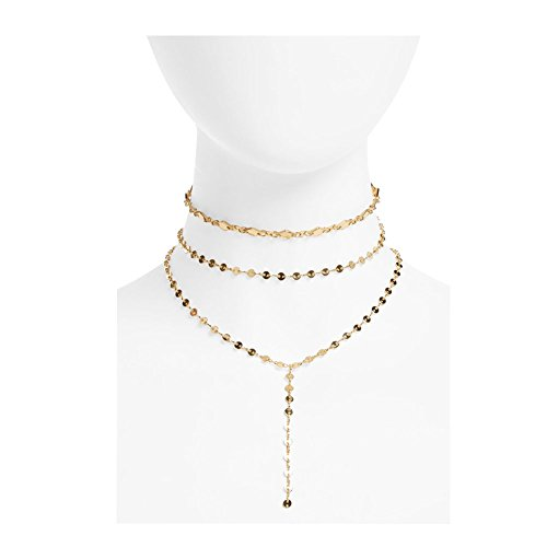 Boosic Choker Lariat Chevron Necklace