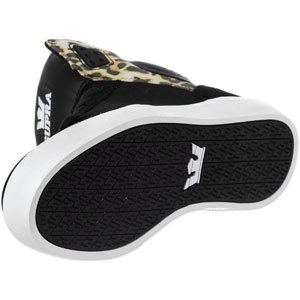 Supra Mens Atom High Top Skate Shoes in Light Grey/Black White - Skateboard Trainers/Footwear Black/ Chetaah - White cheap great deals cheap sale collections outlet popular cheap sale genuine outlet low shipping VqhyfFEIK