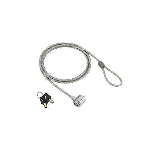 iggual IGG311400 - Cable antirrobo (Acero Inoxidable, Llave ...