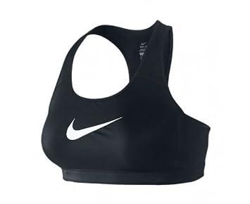 Nike Shape swoosh w/large - Sujetador deportivo para mujer, tamaño XL, color negro/blanco: Amazon.es: Ropa y accesorios