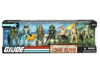 G.I. Joe Exclusive Action Figure Boxed Set Assault On Cobra Island ()