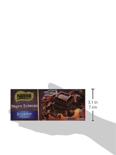 Nestlé - Tableta de Chocolate Negro Intenso Ecuador - 5 Paquetes de 200 g: Amazon.es: Alimentación y bebidas